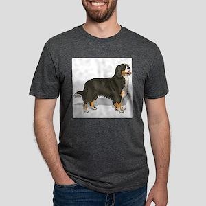 bernese-mountain-do... Mens Tri-blend T-Shirt