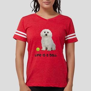 Bichon Frise Life Womens Football Shirt