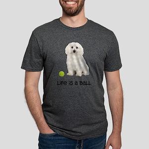 Bichon Frise Life Mens Tri-blend T-Shirt