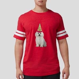 Bichon Frise Birthday Mens Football Shirt