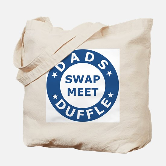 Blue Dads Swapmeet Duffle Canvas Tote Bag