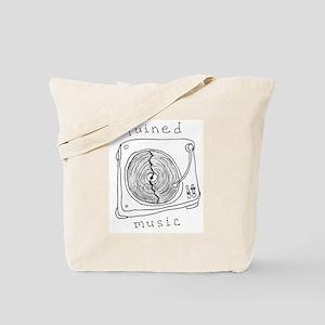Ruined Music tote bag