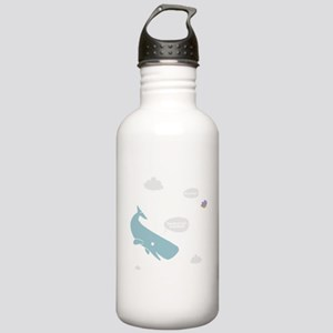 Hitchhiker Whale & Petunia Stainless Water Bottle