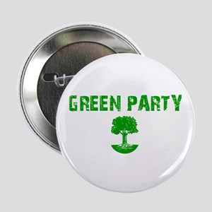 """Green Party 2.25"""" Button"""
