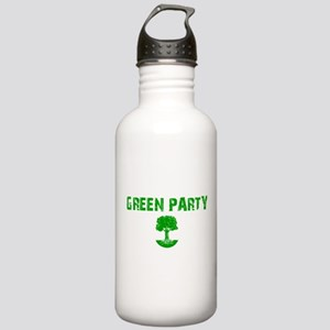 Green Party Stainless Water Bottle 1.0L