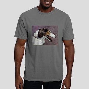 FIN-borzoi-painting Mens Comfort Colors Shirt