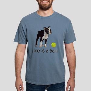 Boston Terrier Life Mens Comfort Colors Shirt