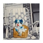 Lawn Chair Tile Coaster