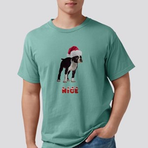 Nice Boston Terrier Mens Comfort Colors Shirt