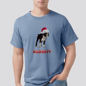 Naughty Boston Terrier Mens Comfort Colors Shirt