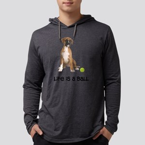 Boxer Life Mens Hooded Shirt
