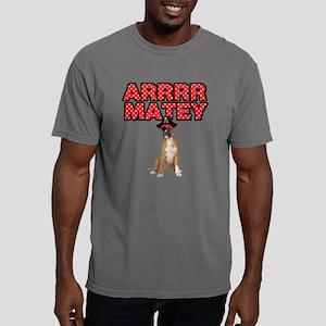 Pirate Boxer Dog Mens Comfort Colors Shirt
