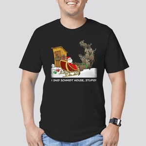Schmidt House Funny Christmas Men's Fitted T-Shirt