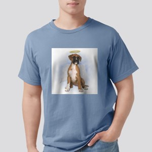 Angel Boxer Puppy Mens Comfort Colors Shirt