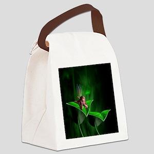 Leaf Fairy Canvas Lunch Bag