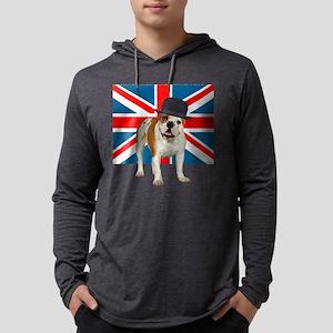 British Bulldog Mens Hooded Shirt