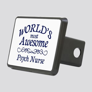 Psych Nurse Rectangular Hitch Cover