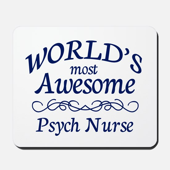 Psych Nurse Mousepad