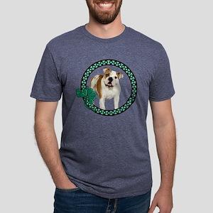 Irish Bulldog Mens Tri-blend T-Shirt