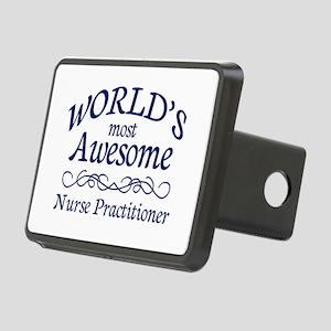 Nurse Practitioner Rectangular Hitch Cover