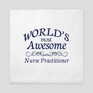 Nurse Practitioner Queen Duvet