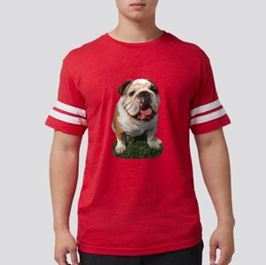 FIN-bulldog-photo.p... Mens Football Shirt