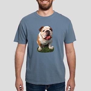 FIN-bulldog-photo.p... Mens Comfort Colors Shirt