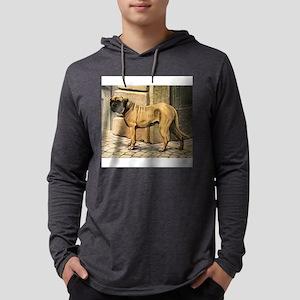 bullmastiff illustration-10x10-100px Mens Hood