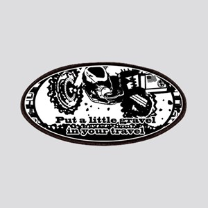 Adventure Bike Oval Patches