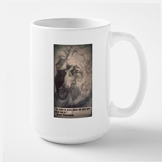 Ernest Hemingway Large Mug