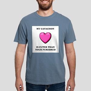 cavachon-cuter-purebred Mens Comfort Colors Sh