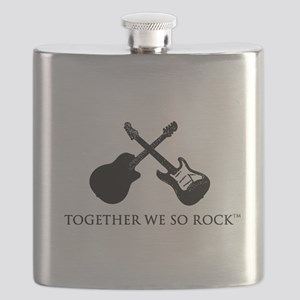 Together we SO Rock white background Flask