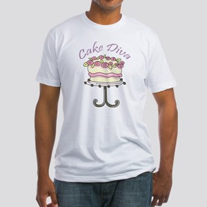 Cake Diva Fitted T-Shirt