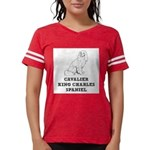 Cavalier King Charles Spaniel Womens Football Shir