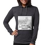 Cavalier King Charles Spaniel Womens Hooded Shirt