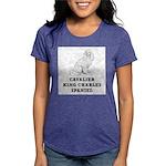 Cavalier King Charles Spaniel Womens Tri-blend T-S