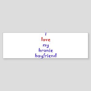 Bronie Boyfriend Sticker (Bumper)