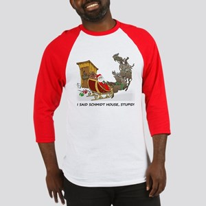 Schmidt House Cartoon Christmas Baseball Jersey