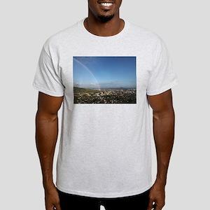 Rainbow over Manoa and Diamond Head Light T-Shirt