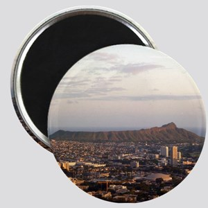 Diamond Head at dusk Magnet