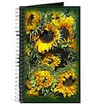 Sunflowers Garden Notebook Journal