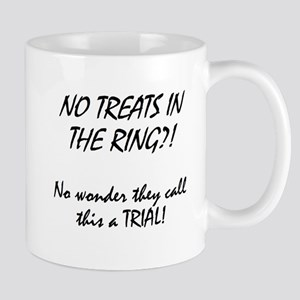 no treats in ring Mugs