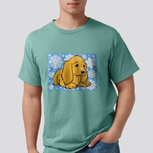 FIN-holiday-cocker-spaniel Mens Comfort Colors