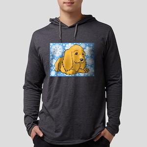 FIN-holiday-cocker-spaniel Mens Hooded Shirt