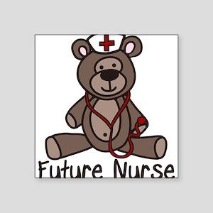 """Future Nurse Square Sticker 3"""" x 3"""""""