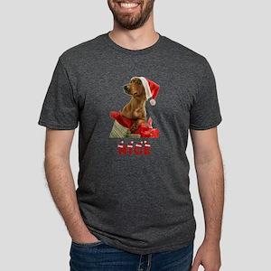 FIN-dachshund-nice Mens Tri-blend T-Shirt