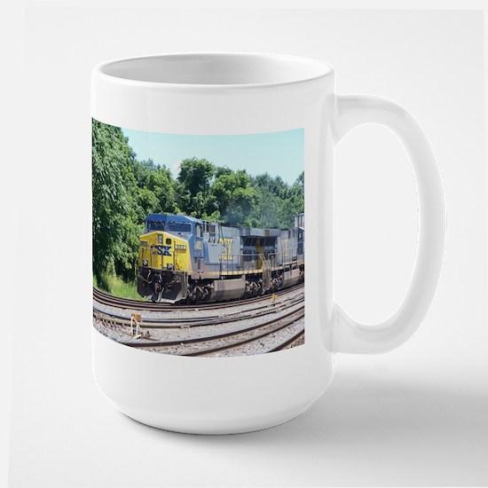 CSX Train-Q190-CSX-ABRAMS Mugs