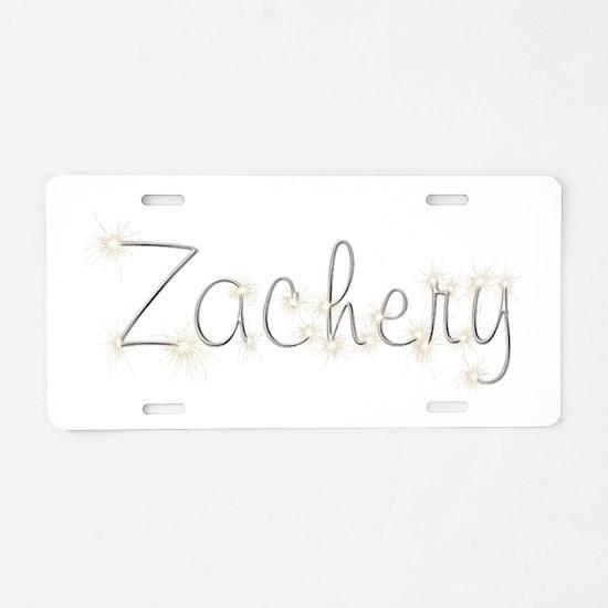 Zachery Spark Aluminum License Plate