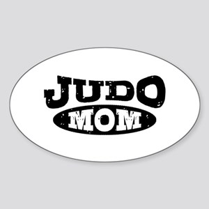 Judo Mom Sticker (Oval)