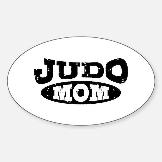 Judo Mom Sticker (Oval)